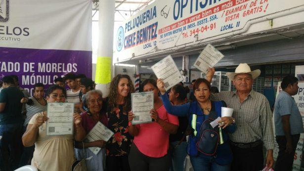 Aprovechan habitantes gratuidad del Registro Civil