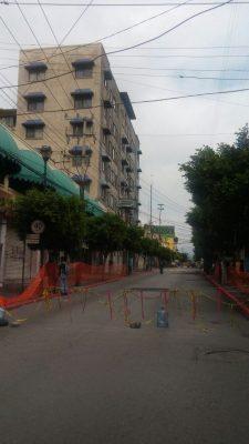 A punto de abrirse la vialidad en Avenida Morelos