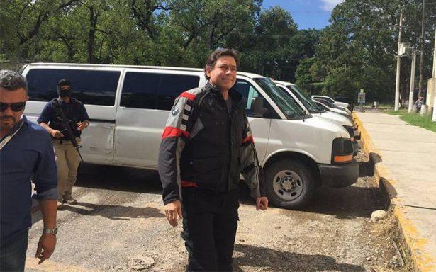 Confirma fiscal detención de ex gobernador de Tamaulipas