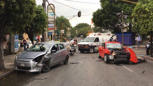 Se impactan en Avenida Morelos