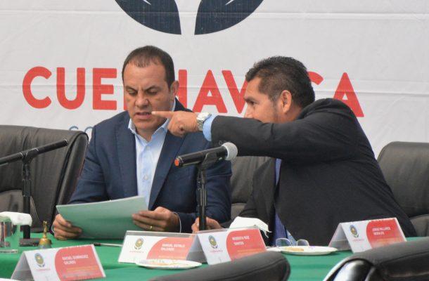 Cuauhtémoc Blanco se deslinda del rector