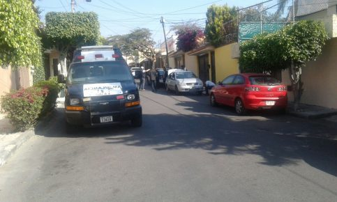 El segundo cateo se realiza en la calle Francisco J. Mújica.