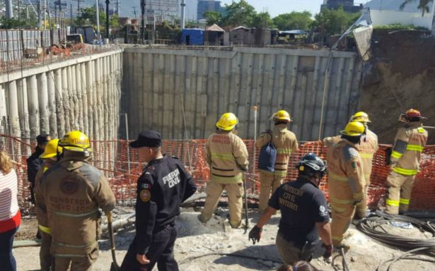 [VIDEO] Colapsan viviendas en Monterrey; un muerto