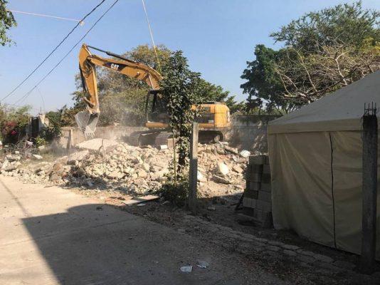 Rezago en la demolición de viviendas