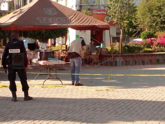 [VIDEO] Censura el alcalde Alfonso atentado en el zócalo de Jojutla