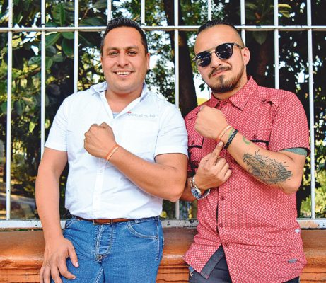 Carlos Benítez y Fercho.