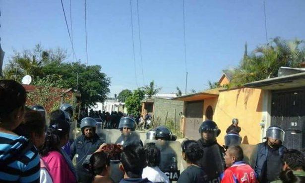 Enfrentamiento en Ahuatepec