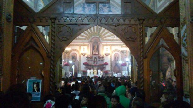 Celebra el Obispo a la Virgen de Guadalupe