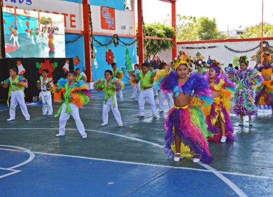 Realiza Colegio del Norte su Festival Internacional