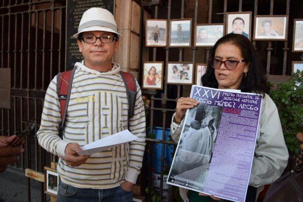 """Convocan al Premio Nacional de Derechos Humanos """"Sergio Méndez Arceo"""""""