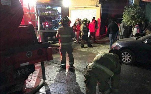 Muere una niña en incendio