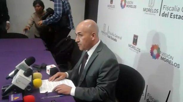 Fuego cruzado mató a víctimas en Temixco: FGE