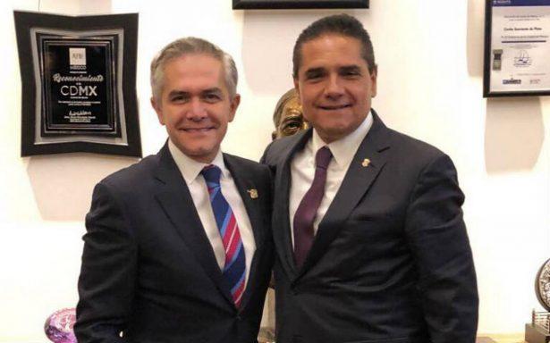 Cierran filas a favor de Mancera para encabezar el Frente Ciudadano por México