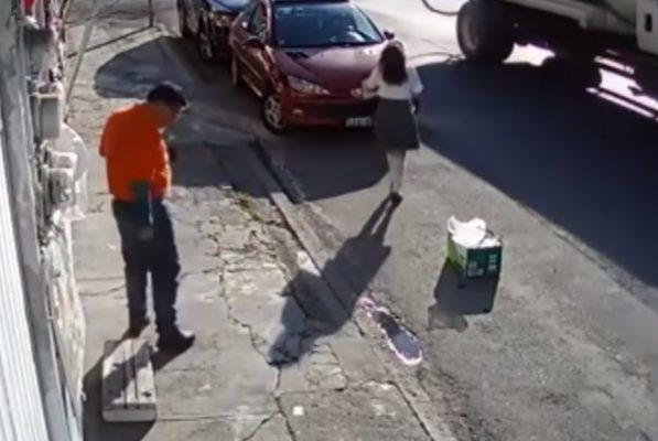 [VIDEO: Imagen fuerte] Niña casi muere por culpa de un cable
