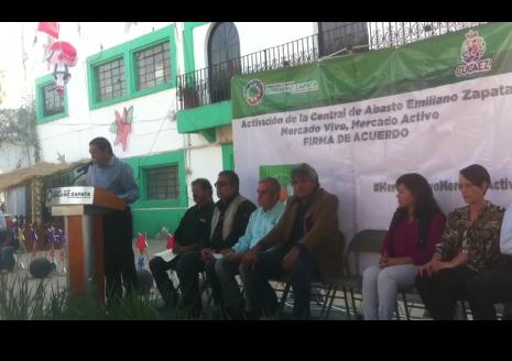 Apoyan en Zapata a comerciantes afectados por el sismo