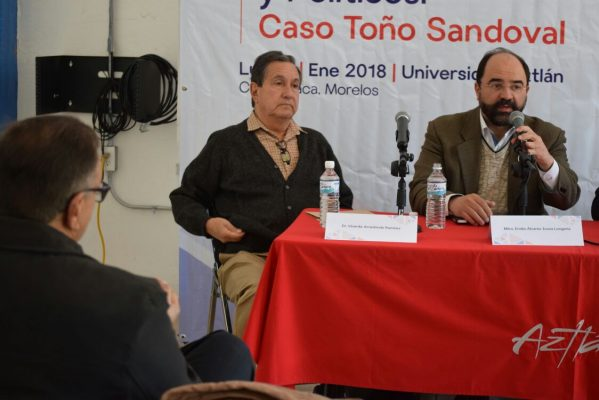 Señala Álvarez Icaza discriminación en caso Antonio Sandoval