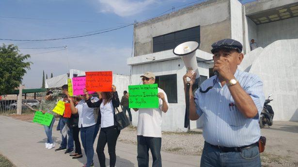 Protesta la Canaco-Servytur de Jojutla