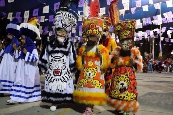 Saldo blanco en convite del Carnaval de Tlaltizapán 2018