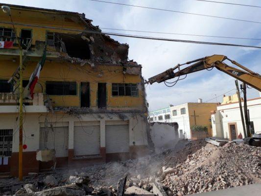 Detienen demolición de Casa Pacheco