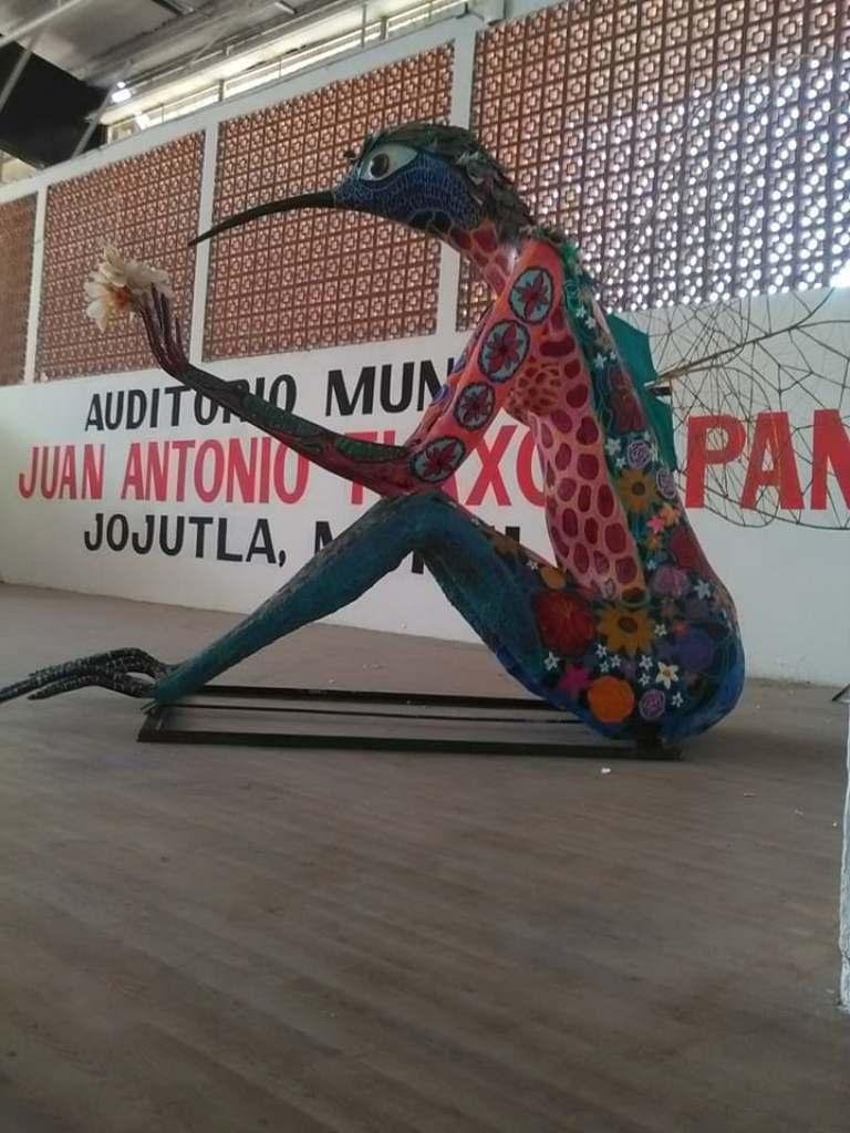 Alfonso Morales participa cada año en el desfile nacional de alebrijes que se celebra en octubre. Foto: Angelina Albarrán