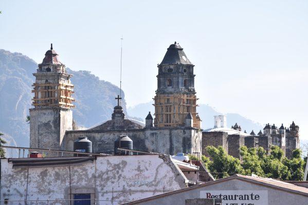 Regresan los visitantes al ex Convento de Tepoztlán