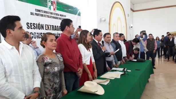 Ratifica PRI alianza electoral