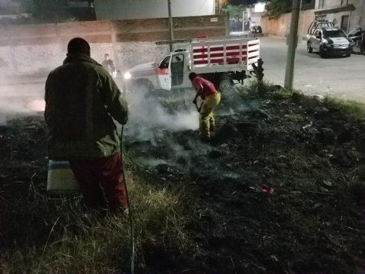 Provoca pirotecnia 30 incendios