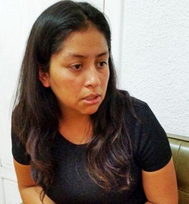 Violeta Salazar, amenazada