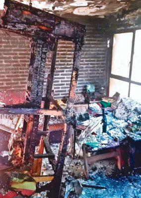 Provoca cortocircuito incendio en Cuernavaca