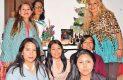 María del Carmen González, Emilia Juan, Lili González, Marina Rosas, Alejandra Avilés, Angélica Hernández y Patricia Cienfuegos.