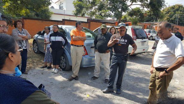 Protestan contra el retiro de pipas de agua