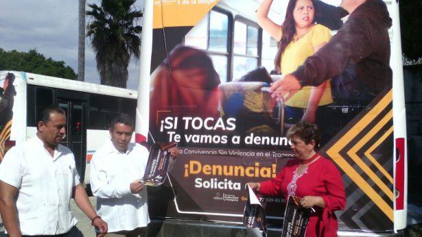 Lanzan campaña para prevenir el acoso contra mujeres