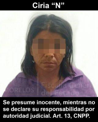 Prostituía a su propia hija; fue detenida en Cuautla