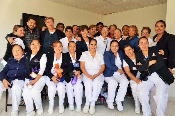Reconocen a personal de Enfermería