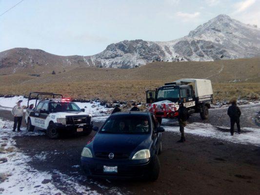 Lanzan recomendaciones para visitar el Nevado de Toluca