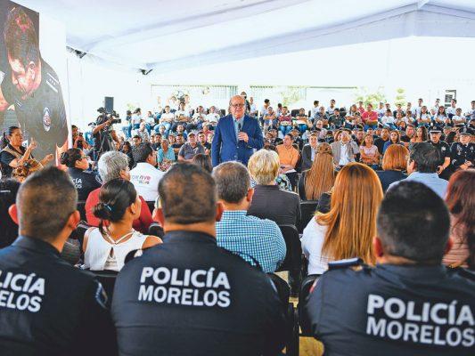 Evitar el regreso del crimen organizado, pide Graco Ramírez
