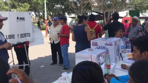 Impugnan las elecciones de Xoxocotla