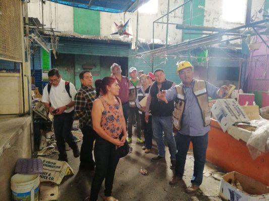 Supervisan mercado y Hacienda Vieja de Zacatepec