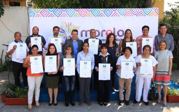 Morelos repunta en establecimientos con Distintivo Moderniza