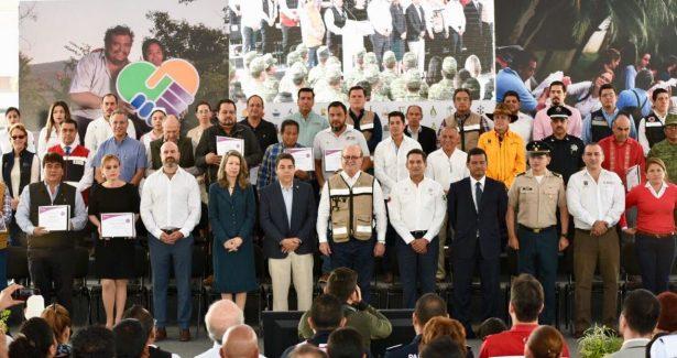 Certifican a los 33 municipios en resiliencia