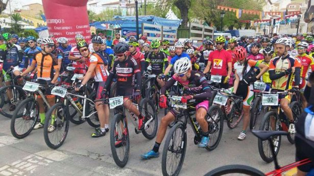 Alistan rodada ciclista