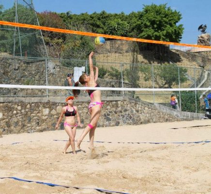 Buenos resultados en el voleibol playero