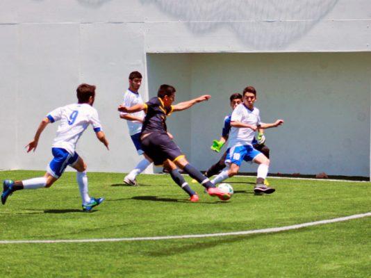 León Gaspar, campeón en fútbol rápido