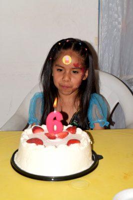 Festeja Melissa seis años