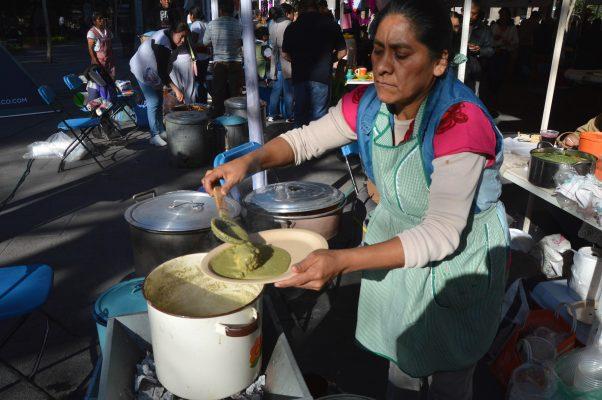 Fiesta de sabores en el Zócalo
