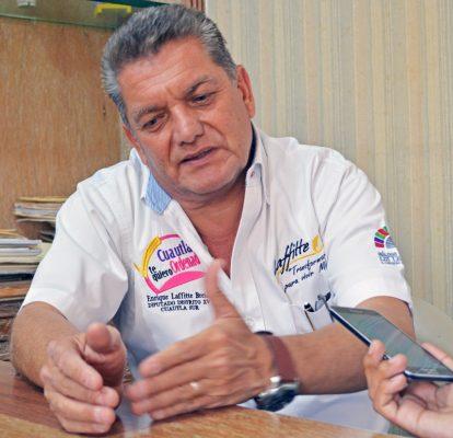 Buscará Enrique Laffitte la reelección