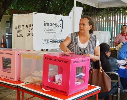 Pocas candidatas independientes