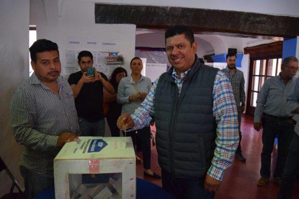 Buscará Javier Bolaños la Presidencia  de Cuernavaca