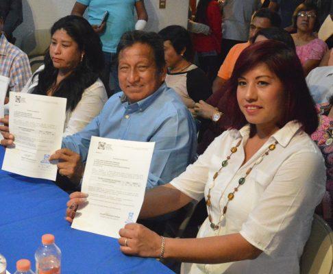 Busca Esteban Hernández su tercera gestión como alcalde de Atlatlahucan