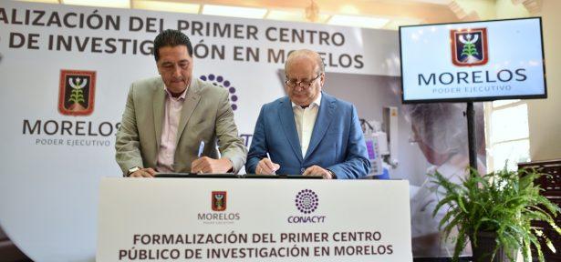 Morelos contará con un Centro Público de Investigación Bioinfotec